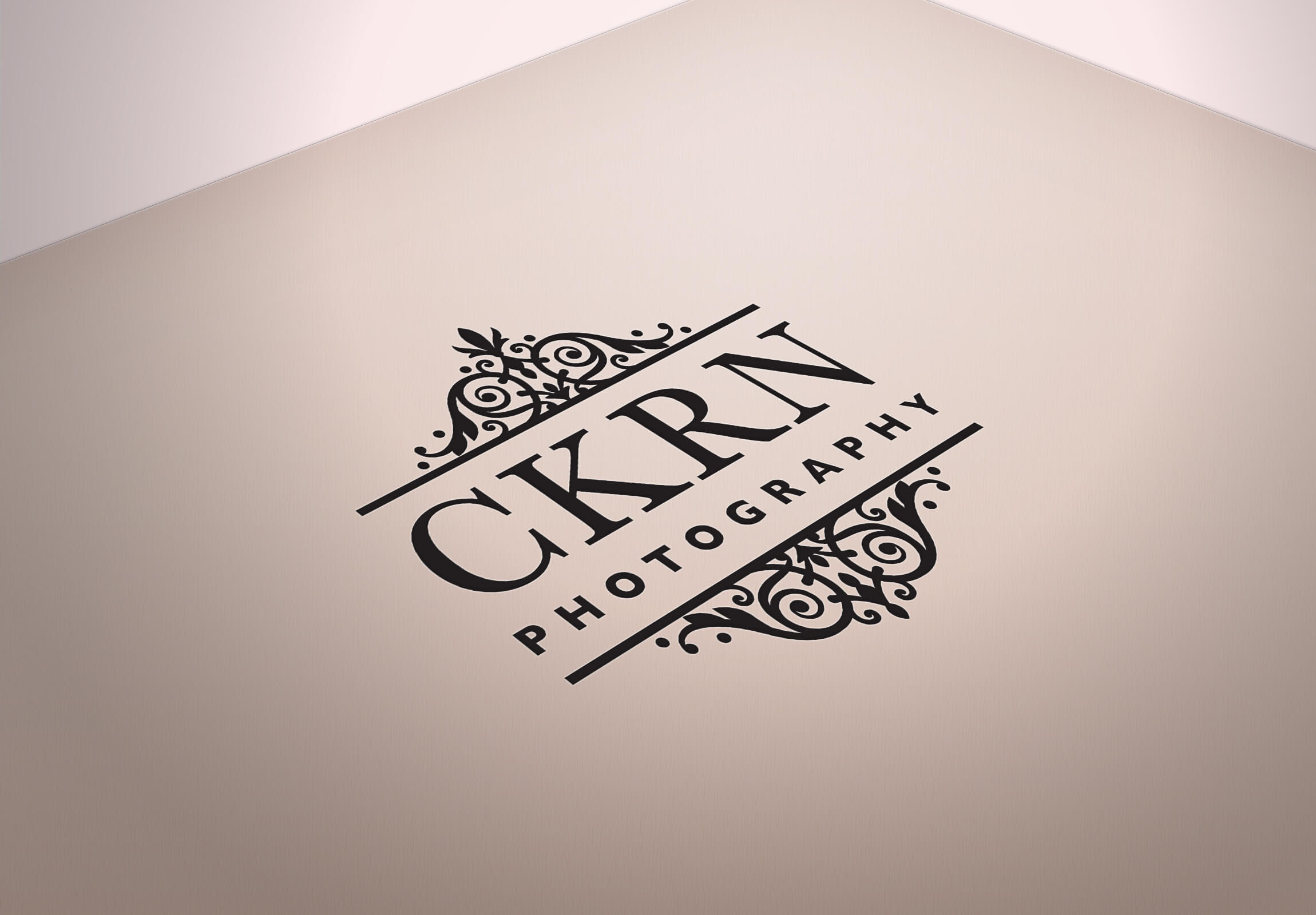 CKRN Photography Logo Design Mockup