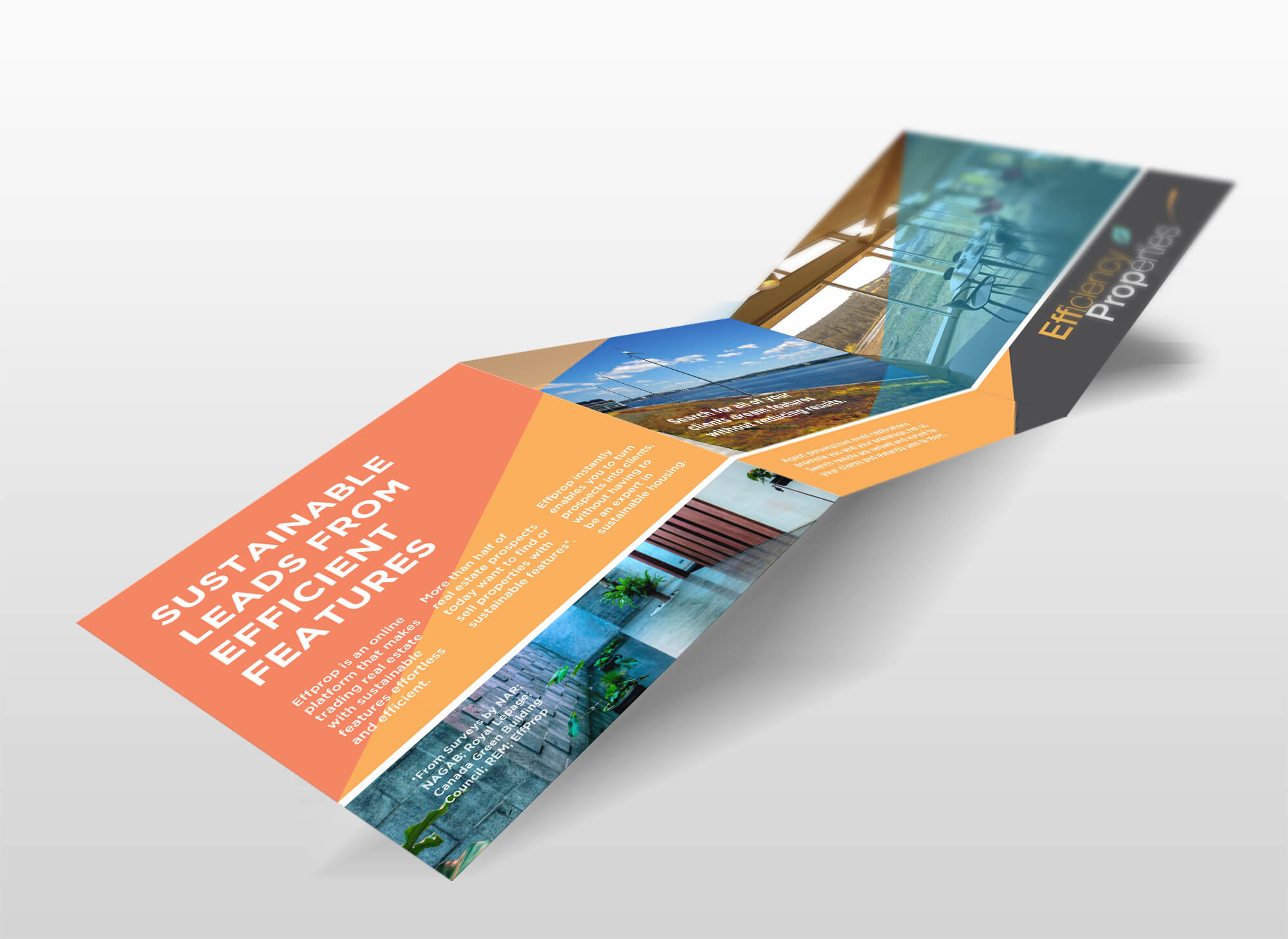 Efficiency Properties Halifax, Brochure Design by Pivot